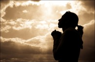 woman praying silhoutte_thumb[2]