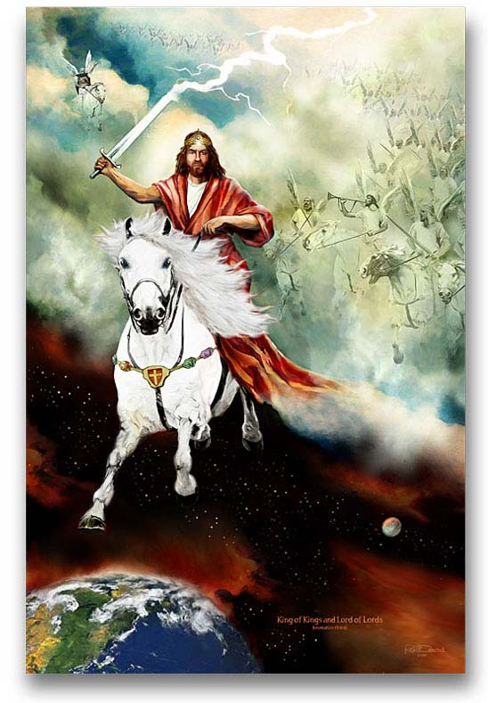 Why The Good Guys Ride White Horses A Word From My Heart